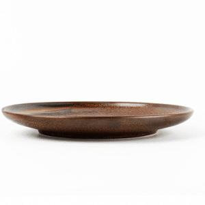 Bord 20cm Escura dark brown -604016