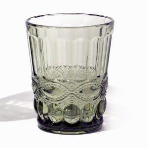 olijf kleurige tumbler voor cocktails