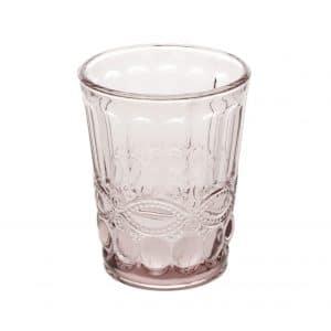 Roze Tumbler voor cocktails.