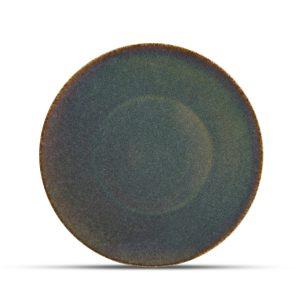 plat bord cirro green 27cm, porselein voor de horeca