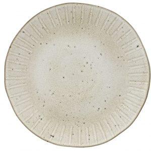 Oyster Bord 31 Cm, stonewhite, servies, gedekte tafel, ecru servies