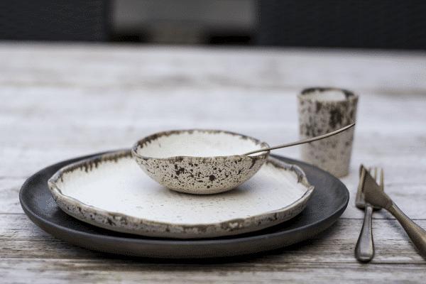 Kieviet bord 21cm, keramiek, hand made Hip tafelen serviesgoed