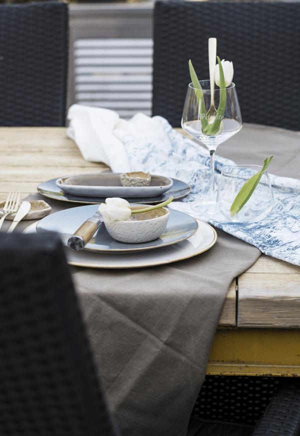 Styling Tables, gedekte tafel, tafelkleed