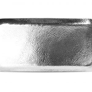 Serveerschaal 44x21cm Metaal Silver Brass 614101