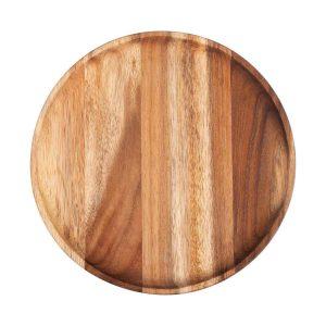 Pure Teak Wood Onderbord Ø 26 X 2 Cm Tw1126