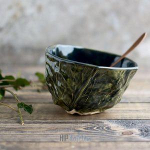 Kolenbowl zeegras collectie, handgemaakt, hip by marc