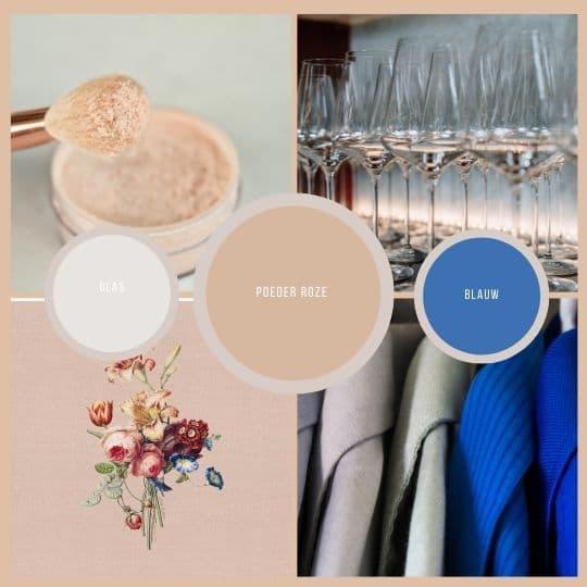 kleuren palet, summer table tafelstyling by HIP tafelen