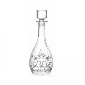 Karaf Tattoo Bottiglia Rotonda, kristal glaswerk